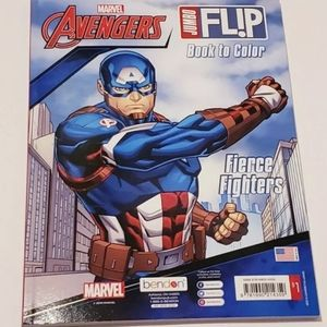 Marvel Avengers Fierce Fighters Coloring book